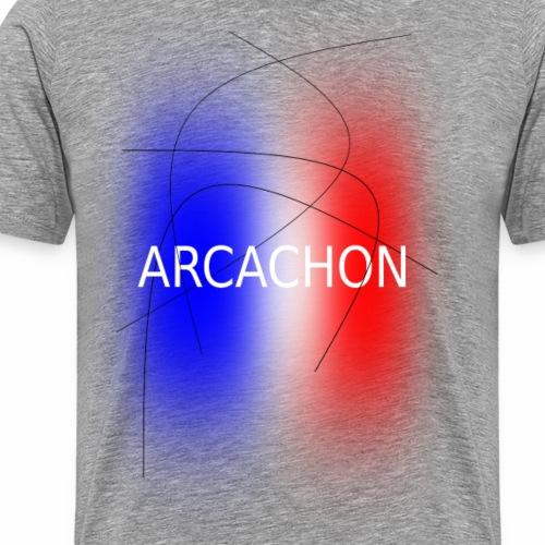 Arcachon tricolore - Men's Premium T-Shirt