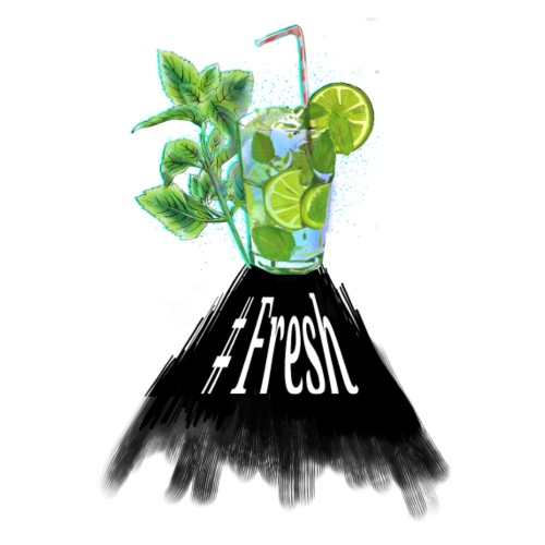 #Fresh Caipirinha cocktail - Männer Premium T-Shirt