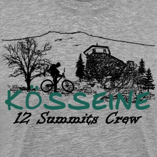 Die Kösseine ein Gipfel der 12 im Fichtelgebirge - Männer Premium T-Shirt