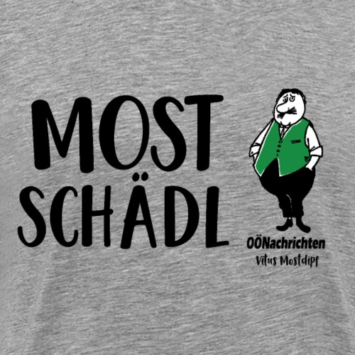 Mostschädl - Vitus Mostdipf - Männer Premium T-Shirt