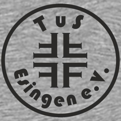 TuS-Esingen Logo Schwarz - Männer Premium T-Shirt