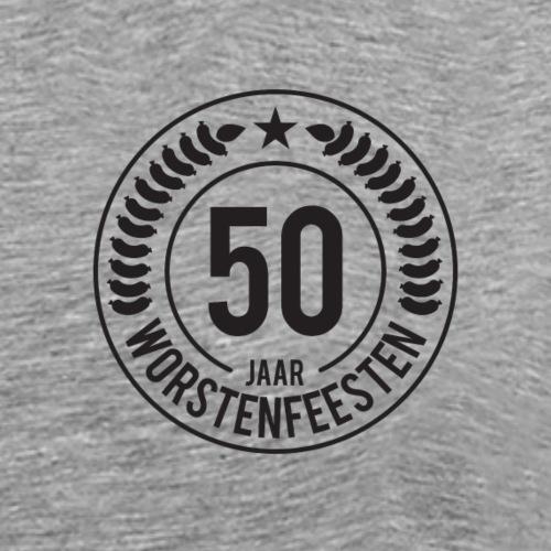 50 Jaar WF - Zwarte Bedrukking - Mannen Premium T-shirt