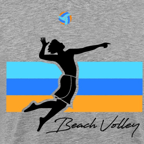 Beach-volleyeur - T-shirt Premium Homme