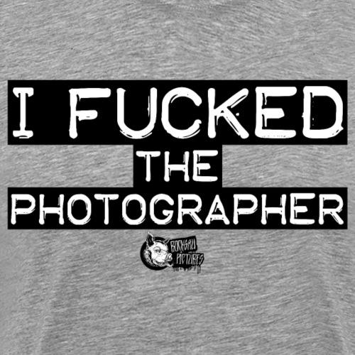 I FUCKED black - Männer Premium T-Shirt