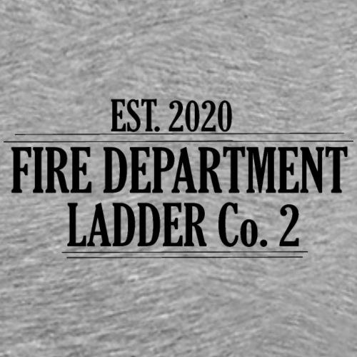 Fire Department - Ladder Co.2 - Herre premium T-shirt