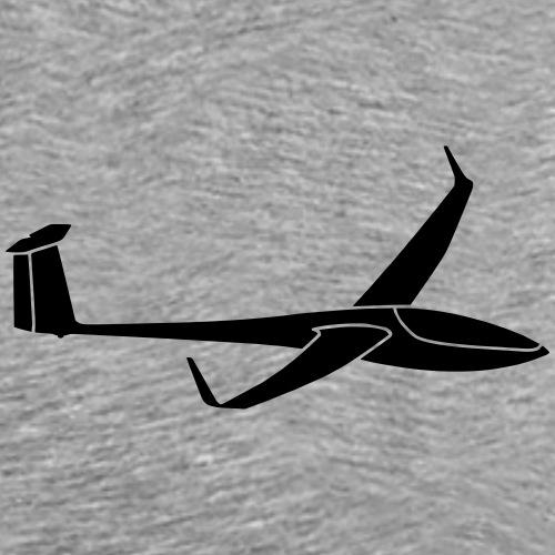 DG808c Segelflieger Geschenk Segelflugzeug Gleiten - Männer Premium T-Shirt