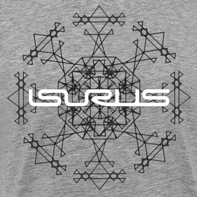 Mandala and Logo (white)