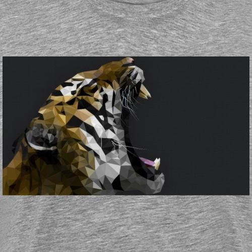 lion schwer - Männer Premium T-Shirt