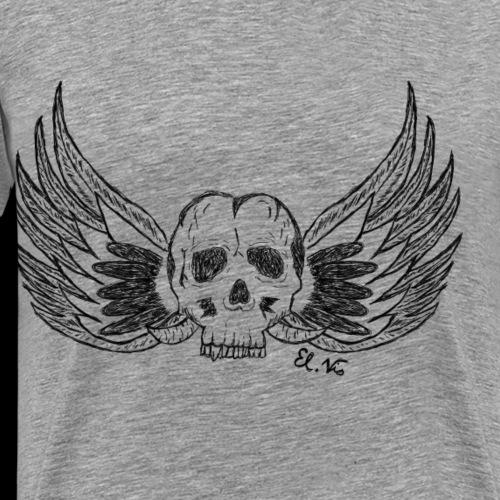Skull 'n' Wings - Männer Premium T-Shirt