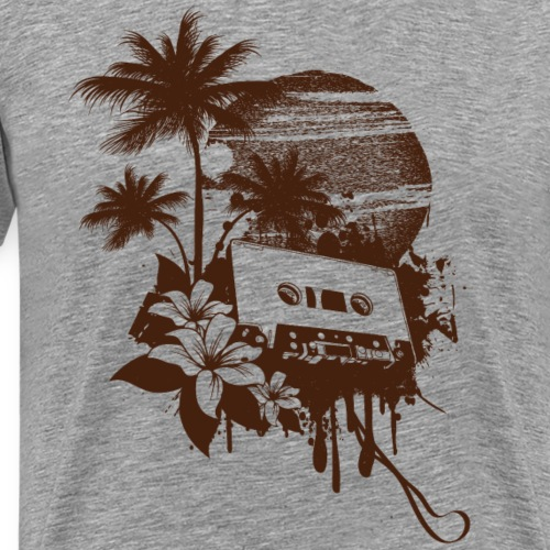 vintage tape - Männer Premium T-Shirt