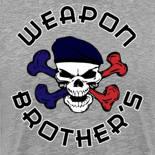 WB - Support French Skull - T-shirt Premium Homme