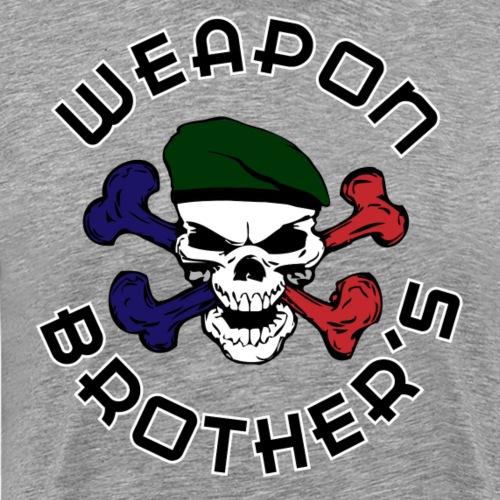 WB - skull beret vert - T-shirt Premium Homme