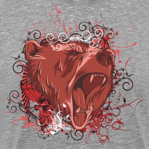 Bear - Premium T-skjorte for menn