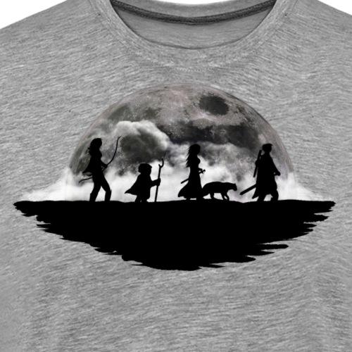 Helden auf Wanderschaft - Männer Premium T-Shirt