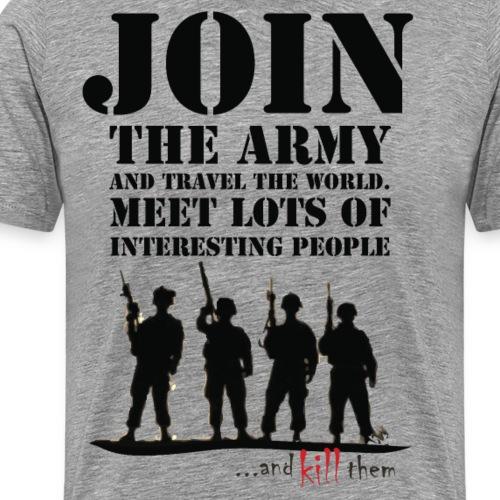 Join the army - Koszulka męska Premium