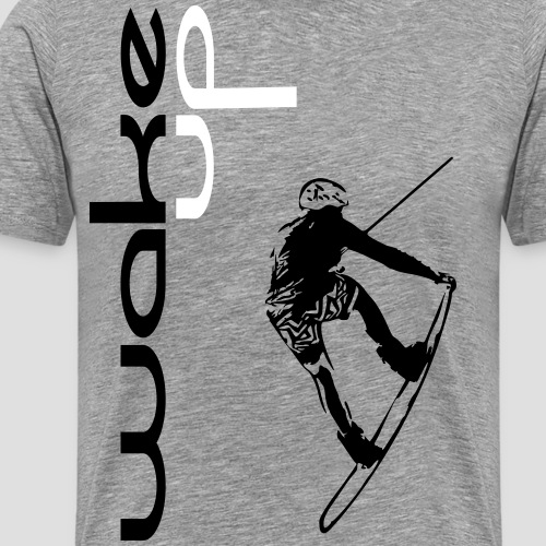 wake up for wakeboarding - Männer Premium T-Shirt
