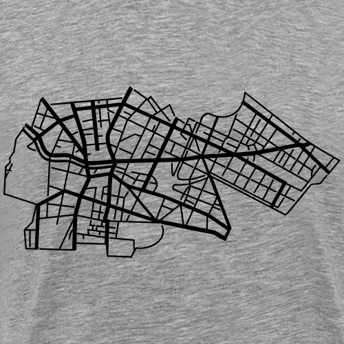 Berlín Kreuzberg - Koszulka męska Premium