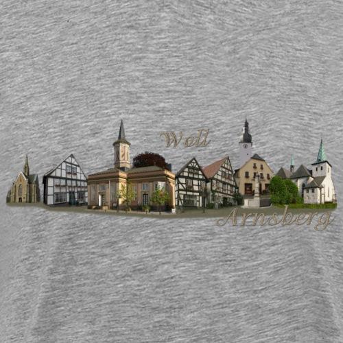 Arnsberg Skyline - Männer Premium T-Shirt