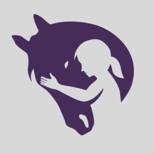 Seelenpferd violett