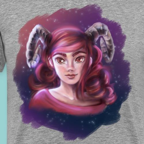 Artsy horns - Männer Premium T-Shirt
