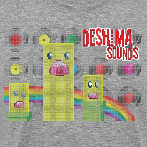 Deshima Sounds 07 2011 - Mannen Premium T-shirt