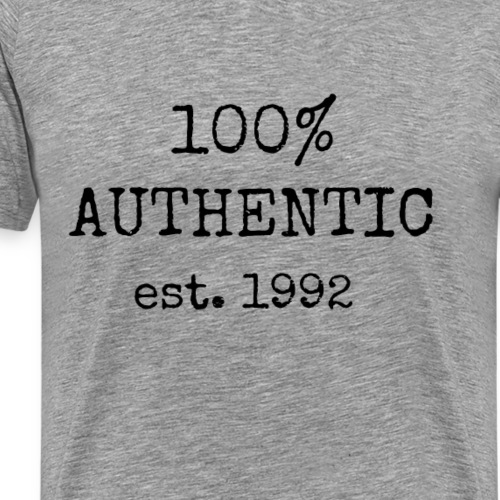 Authenic - Established in 1992 - Men's Premium T-Shirt
