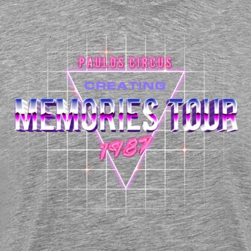 Creating Memories Tour - Vintage - Men's Premium T-Shirt