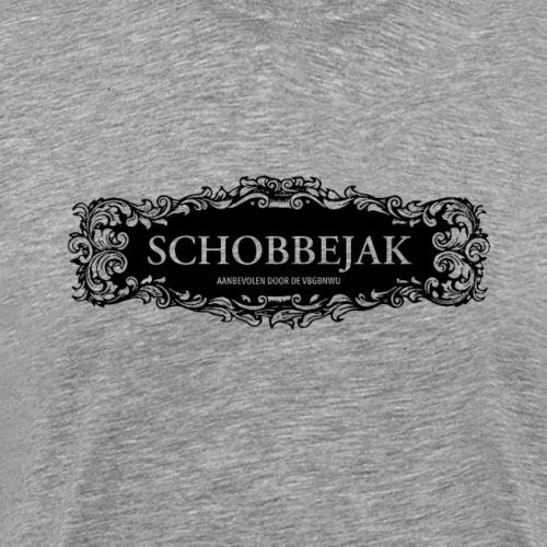 Schobbejak deco ZWART - Mannen Premium T-shirt