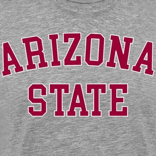 ASU Arizona State University - Männer Premium T-Shirt