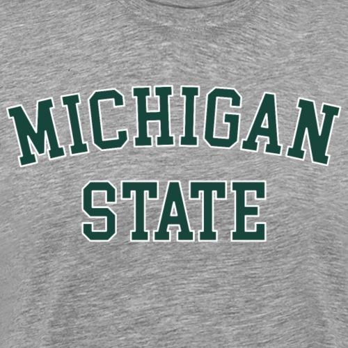 MSU Michigan State University - Männer Premium T-Shirt