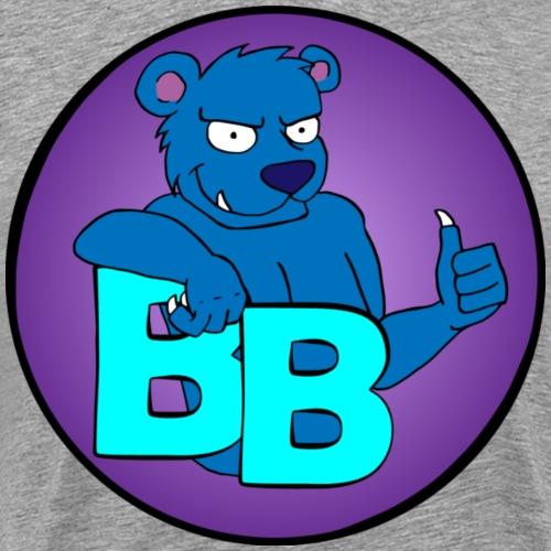 BouncyBear - Herre premium T-shirt