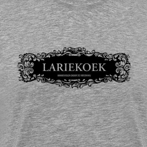 Lariekoek deco ZWART - Mannen Premium T-shirt