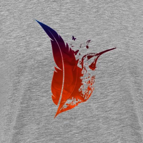Colibri flamboyant - T-shirt Premium Homme