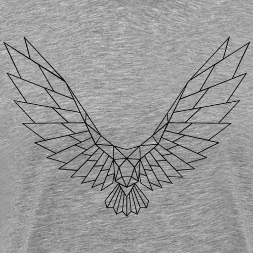 Be Free Blackbird Edges Collection - Männer Premium T-Shirt
