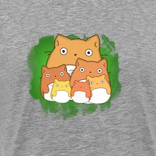 Minions orange & green - Men's Premium T-Shirt
