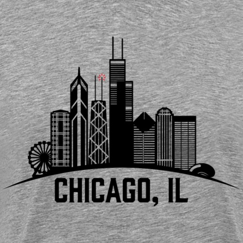 Chicago, IL - Camiseta premium hombre