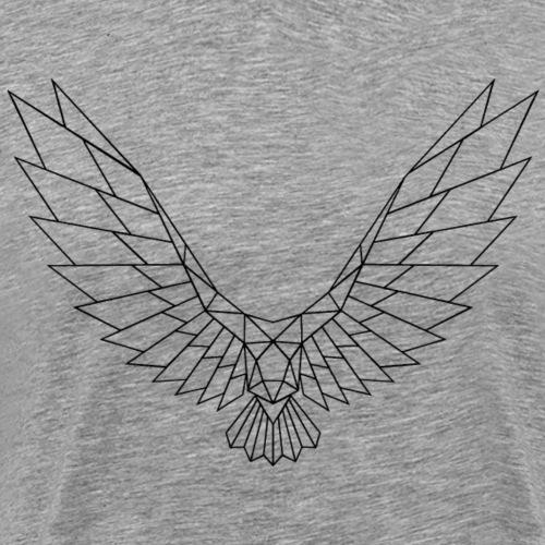 Be Free Blackbird Edges Collection - Männer Premium T-Shirt