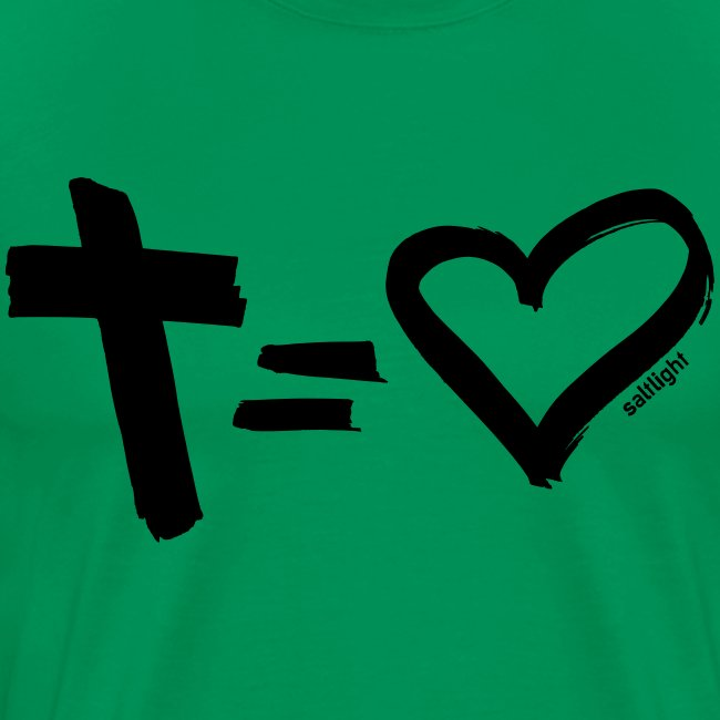 Cross = Heart BLACK