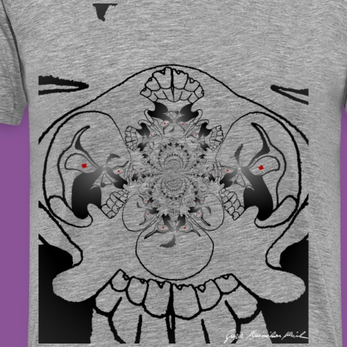 Totenkopf 6 - Männer Premium T-Shirt