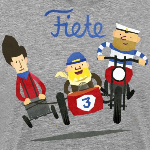 Fiete - Rennen - Männer Premium T-Shirt