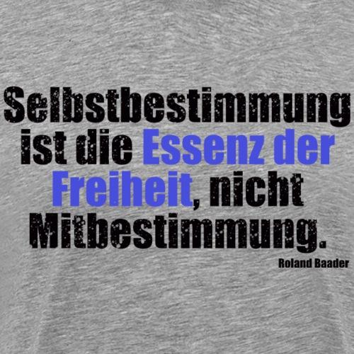 Essenz Freiheit Baader - Männer Premium T-Shirt