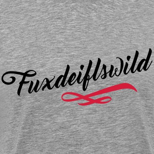 fuxdeiflswild fuchsteufelswild geschenk schwäbisch - Männer Premium T-Shirt