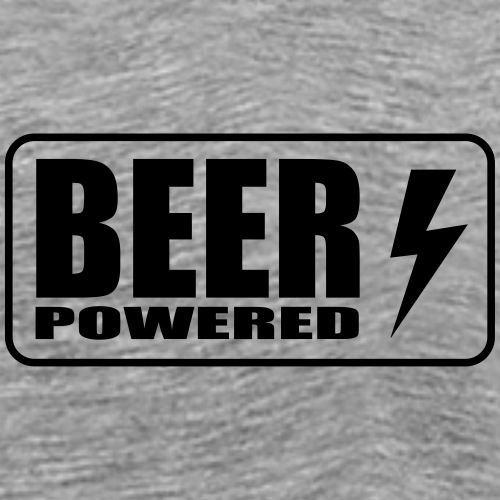 Beer Powered - T-shirt Premium Homme