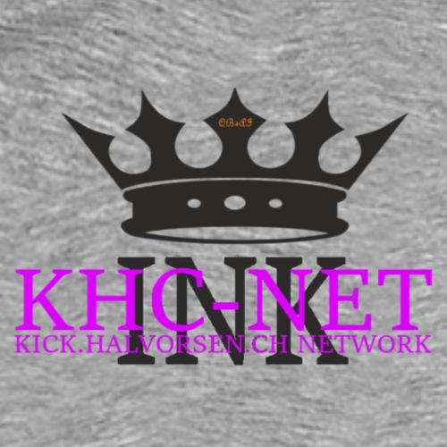 KHC NET ink - Premium T-skjorte for menn
