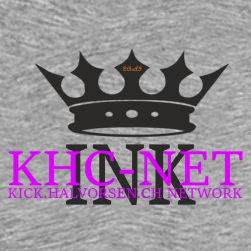 KHC-NET ink - Premium T-skjorte for menn