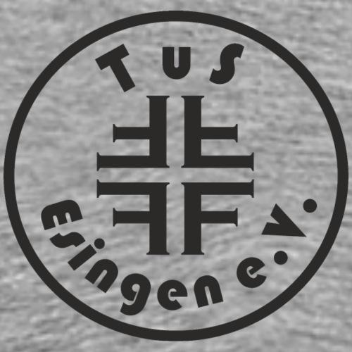 Vereins-Logo Schwarz - Männer Premium T-Shirt