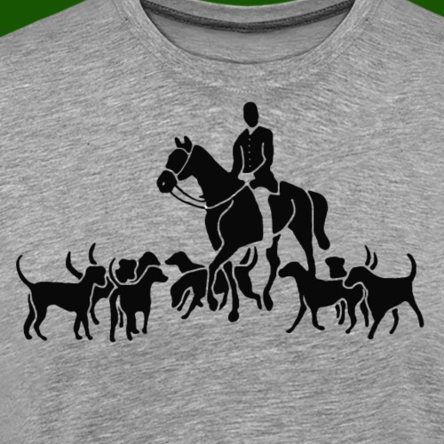 Die Fuchsjagd - Männer Premium T-Shirt