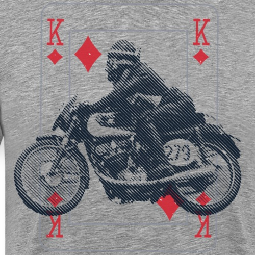 Moto Morini Rebello The King Pilot - Maglietta Premium da uomo