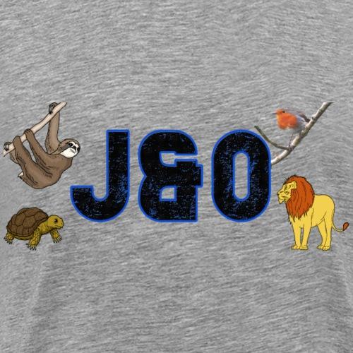 JAMAandOscar animal design - Men's Premium T-Shirt
