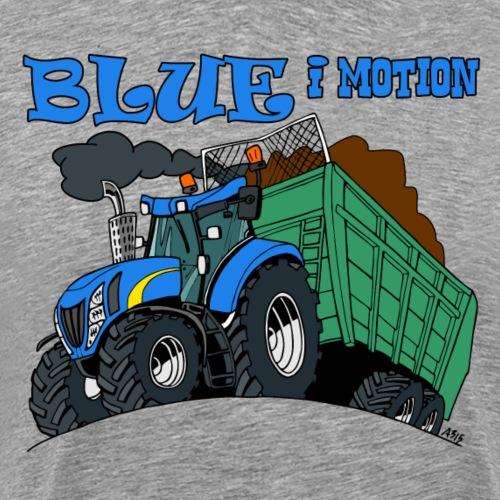 blue i motion - Mannen Premium T-shirt